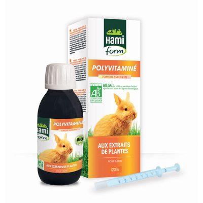 Polyvitamines pour lapin - Hamiform