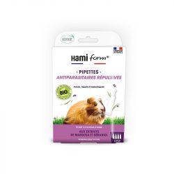 Pipettes antiparasitaires bio pour cochon d'inde - Hamiform
